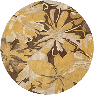 Surya Athena ATH5115-4RD Hand Tufted Rug, 4' Round