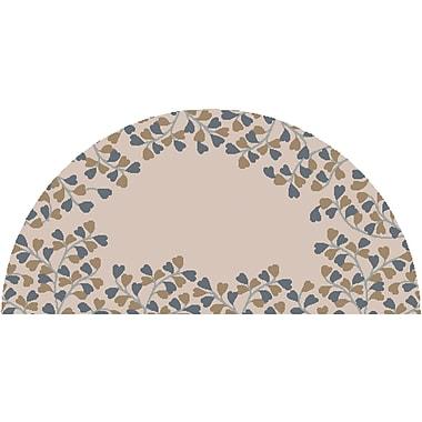 Surya Athena ATH5117-24HM Hand Tufted Rug, 2' x 4' Semi-Circle