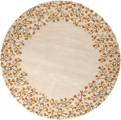 Surya Athena ATH5118-4RD Hand Tufted Rug, 4' Round