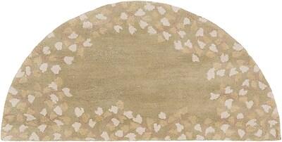 Surya Athena ATH5119-24HM Hand Tufted Rug, 2' x 4' Semi-Circle