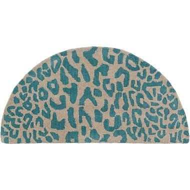 Surya Athena ATH5120-24HM Hand Tufted Rug, 2' x 4' Semi-Circle
