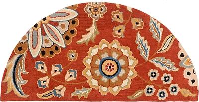 Surya Athena ATH5126-24HM Hand Tufted Rug, 2' x 4' Semi-Circle