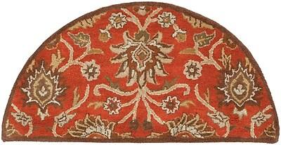 Surya Caesar CAE1062-24HM Hand Tufted Rug, 2' x 4' Semi-Circle