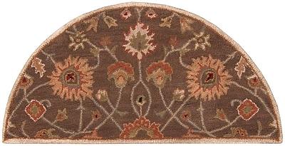 Surya Caesar CAE1086-24HM Hand Tufted Rug, 2' x 4' Semi-Circle