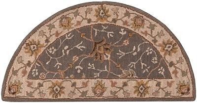 Surya Caesar CAE1093-24HM Hand Tufted Rug, 2' x 4' Semi-Circle