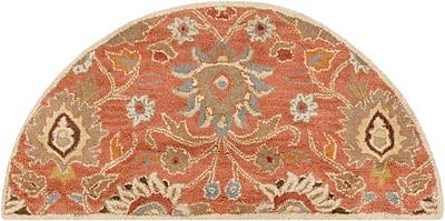 Surya Caesar CAE1107-24HM Hand Tufted Rug, 2' x 4' Semi-Circle