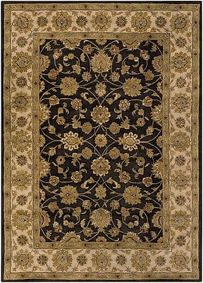 Surya Crowne CRN6009-312 Hand Tufted Rug, 3' x 12' Rectangle