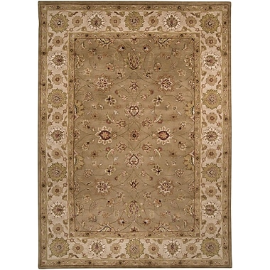 Surya Crowne CRN6010-46 Hand Tufted Rug, 4' x 6' Rectangle