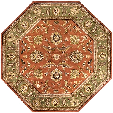 Surya Crowne CRN6019-8OCT Hand Tufted Rug, 8' Octagon