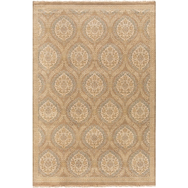 Surya Jade JDE3003-69 Hand Knotted Rug, 6' x 9' Rectangle