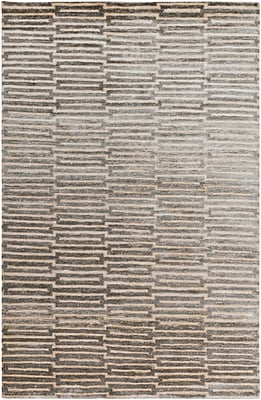 Surya Platinum PLAT9000-811 Hand Knotted Rug, 8' x 11' Rectangle