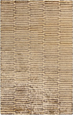 Surya Platinum PLAT9002-23 Hand Knotted Rug, 2' x 3' Rectangle