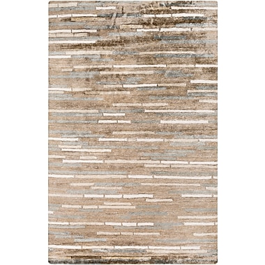 Surya Platinum PLAT9008-23 Hand Knotted Rug, 2' x 3' Rectangle