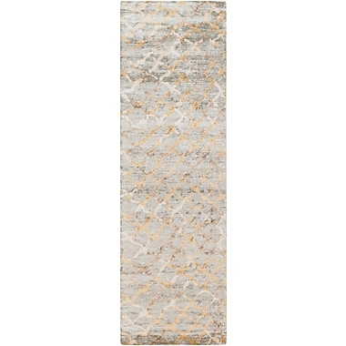 Surya Platinum PLAT9018-268 Hand Knotted Rug, 2'6