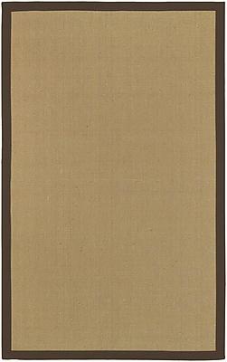 Surya Soho BROWN Hand Woven Rug, 5' x 8' Rectangle
