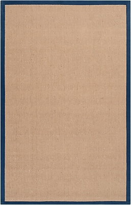 Surya Soho NAVY Hand Woven Rug, 8' x 10' Rectangle