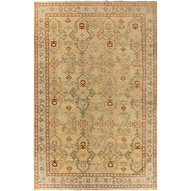 Surya Castle CSL6000-1014 Hand Knotted Rug, 10' x 14' Rectangle