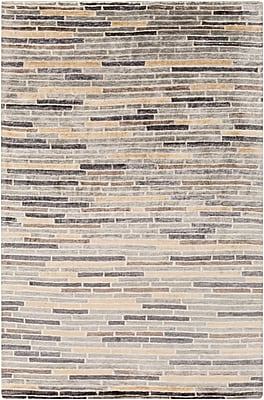 Surya Platinum PLAT9009-23 Hand Knotted Rug, 2' x 3' Rectangle
