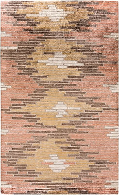 Surya Platinum PLAT9012-58 Hand Knotted Rug, 5' x 8' Rectangle