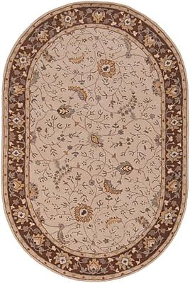Surya Caesar CAE1082-69OV Hand Tufted Rug, 6' x 9' Oval