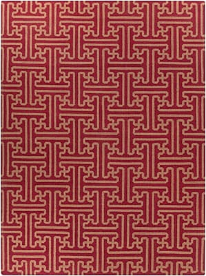 Surya Smithsonian Archive ACH1701-811 Hand Woven Rug, 8' x 11' Rectangle