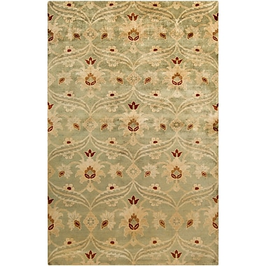 Surya Ainsley AIN1014-811 Hand Knotted Rug, 8' x 11' Rectangle