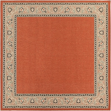 Surya Alfresco ALF9598-89SQ Machine Made Rug, 8'9