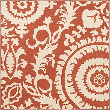 Surya Alfresco ALF9613-89SQ Machine Made Rug, 8'9