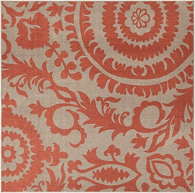 Surya Alfresco ALF9617-89SQ Machine Made Rug, 8'9