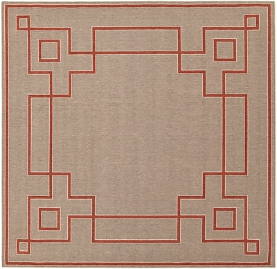 Surya Alfresco ALF9633-89SQ Machine Made Rug, 8'9