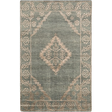 Surya Bagras BGR6000-58 Hand Knotted Rug, 5' x 8' Rectangle