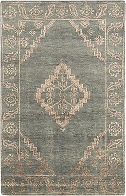 Surya Bagras BGR6000-23 Hand Knotted Rug, 2' x 3' Rectangle