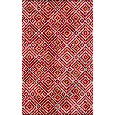 Surya Brentwood BNT7699-58 Hand Hooked Rug, 5' x 8' Rectangle