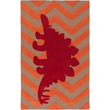 Surya Budding BUD2007-58 Hand Tufted Rug, 5' x 8' Rectangle
