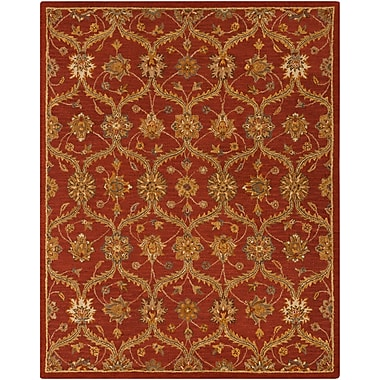 Surya Carrington CAR1006-810 Hand Hooked Rug, 8' x 10' Rectangle