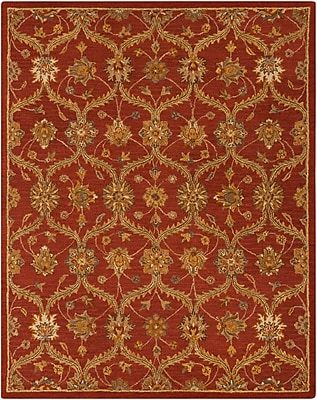 Surya Carrington CAR1006-58 Hand Hooked Rug, 5' x 8' Rectangle