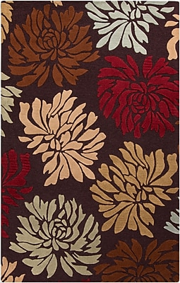 Surya Centennial CNT1092-58 Hand Hooked Rug, 5' x 8' Rectangle