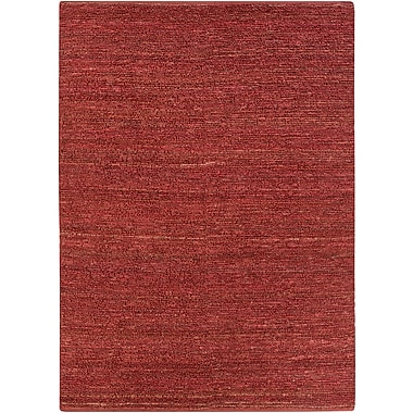 Surya Continental COT1942-811 Hand Woven Rug, 8' x 11' Rectangle