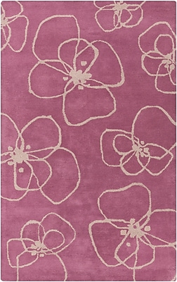 Surya Lotta Jansdotter Decorativa DCR4002-58 Hand Tufted Rug, 5' x 8' Rectangle
