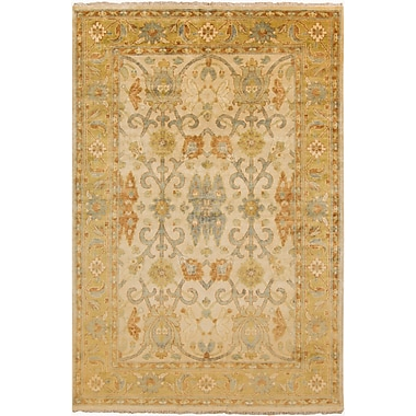 Surya Hillcrest HIL9020-23 Hand Knotted Rug, 2' x 3' Rectangle