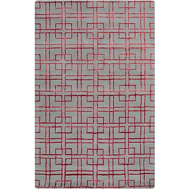 Surya GlucksteinHome Manor MNR1015-811 Hand Tufted Rug, 8' x 11' Rectangle