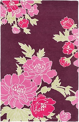 Surya Florence Broadhurst Mount Perry MTP1002-58 Hand Tufted Rug, 5' x 8' Rectangle