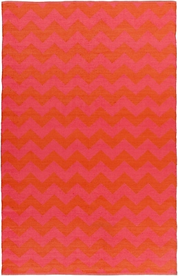 Surya Picnic PIC4009-58 Hand Woven Rug, 5' x 8' Rectangle