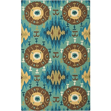 Surya Storm SOM7709-23 Hand Hooked Rug, 2' x 3' Rectangle