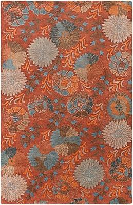 Surya Vintage VTG5240-58 Hand Tufted Rug, 5' x 8' Rectangle