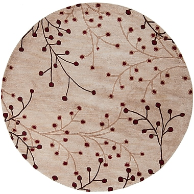 Surya Athena ATH5053-6RD Hand Tufted Rug, 6' Round