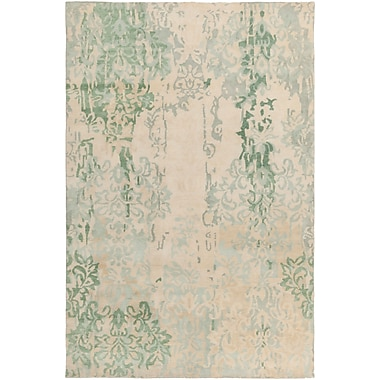 Surya Brocade BRC1012-58 Hand Knotted Rug, 5' x 8' Rectangle