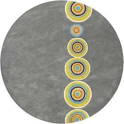 Surya Dazzle DAZ6537-6RD Hand Tufted Rug, 6' Round