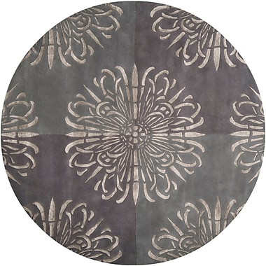 Surya Essence ESS7629-8RD Hand Tufted Rug, 8' Round