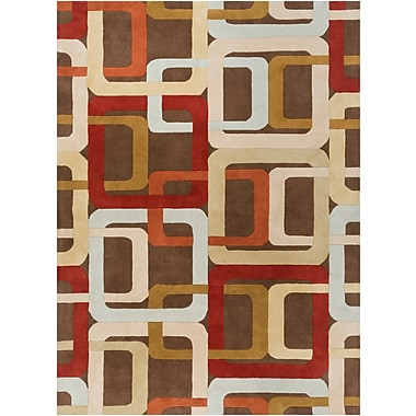 Surya Forum FM7106-312 Hand Tufted Rug, 3' x 12' Rectangle